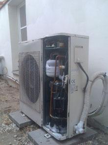 namrzání klimatizace