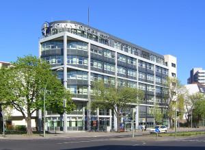 Budova Scientologické církve v Německém Berlíně