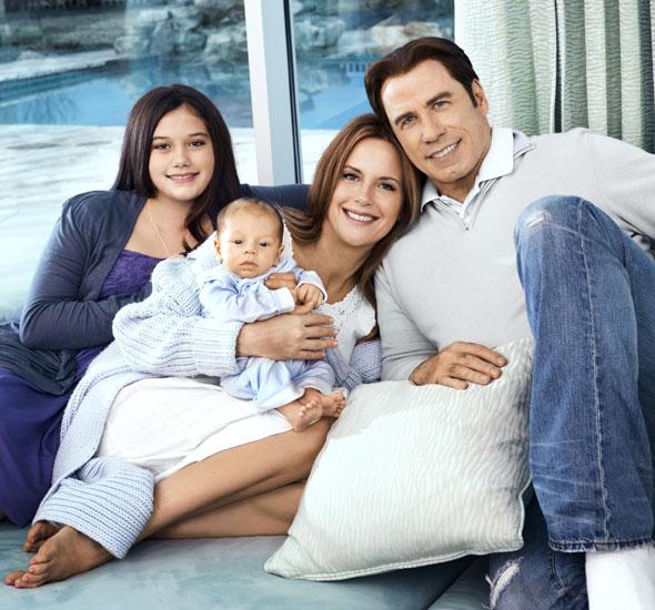 Kelly Preston a John Travolta američtí herci a scientologové