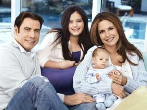 John Travolta Kelly Preston a jejich děti - Scientologie herci