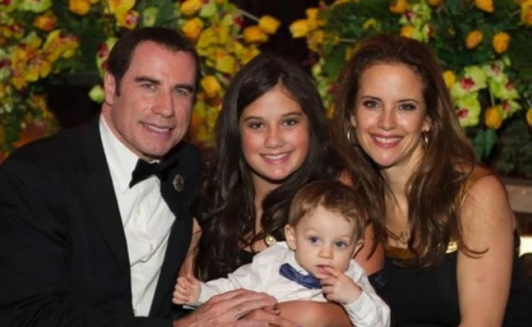 John Travolta Kelly Preston a rodina