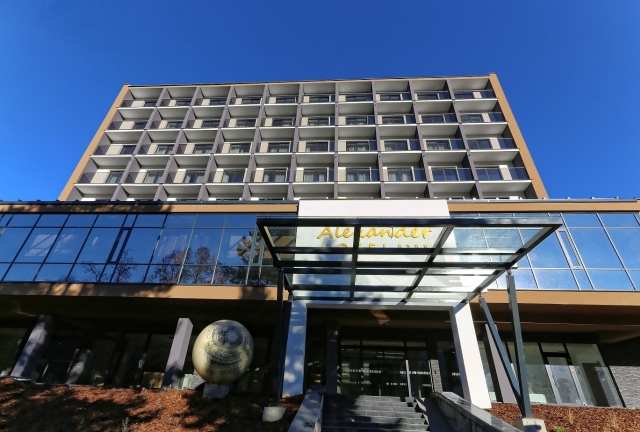 hotel alexander exterier