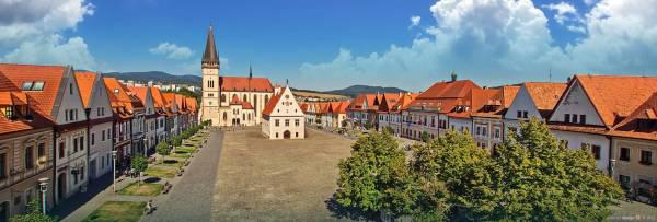 Bardejov panorama