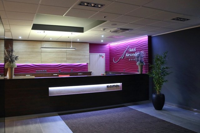Hotel Alexander recepcia